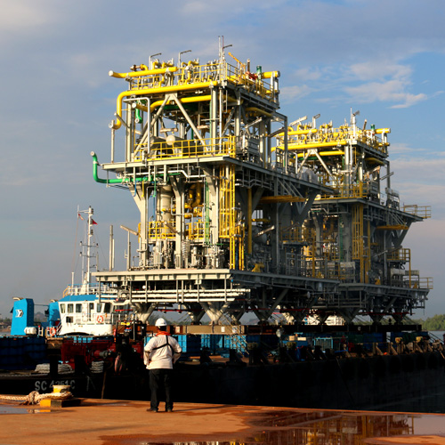 Gas Compression Modules  Ghana (West Africa)